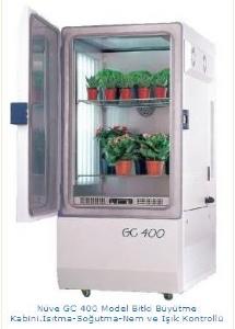 Nüve GC 400 Model Bitki Büyütme Kabini.Isıtma-Soğutma-Nem ve Işık Kontrollü