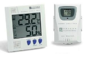 Oregon Scientific İç-Dış Sıcaklık ve Nem Ölçüm Cihazı