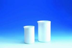 Beher (PTFE), yüksek sıcaklığa uygun, ışık geçirmez