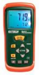 Extech Insturuments 2 Girişli K tipi Termometre
