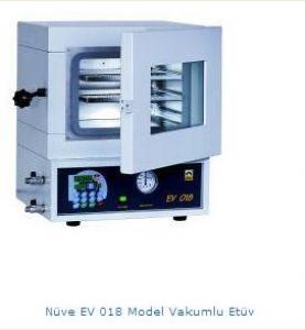 Nüve EV 018 Model Vakumlu Etüv