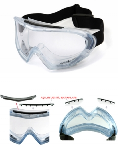Tadex Gıv 1200 Af Koruyucu Gözlük – Buğulanmaz