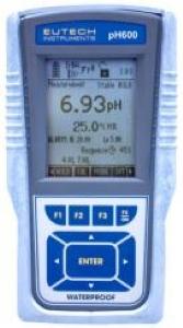 Eutech CyberScan pH 600 Kit Taşınabilir Su Geçirmez pH Metre