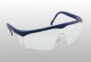 Lux Safety Koruyucu Gözlük – Şeffaf (Mavi Çerçeveli)