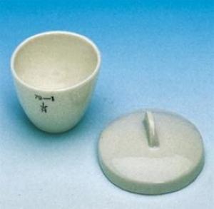 Haldenwanger 11 ml Kısa Porselen Kroze DIN 12904
