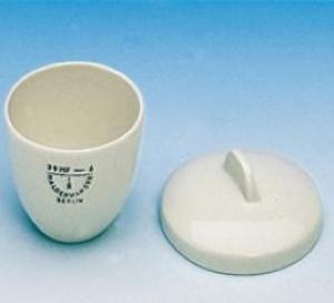 Haldenwanger 15 ml Orta Form Porselen Kroze DIN 12904